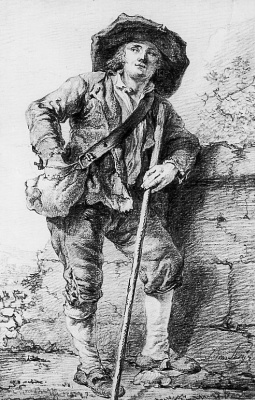 Абрахам ван Стрий. Сельский житель