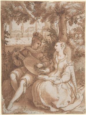 Hendrik Goltzius. Spring. 1594