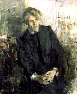 Nikolay Feshin. Portrait Of K. M. Lepilov