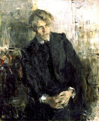 Николай Иванович Фешин. Портрет К. М. Лепилова