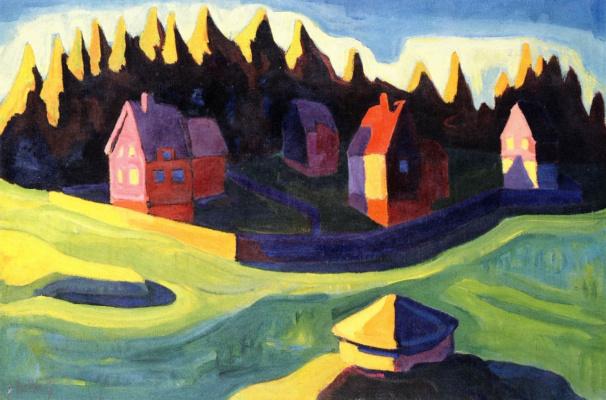 Karl Schmidt-Rottluff. Landscape