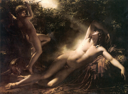 Anne-Louis Girode de Russi-Triosone. The Sleep Of Endymion