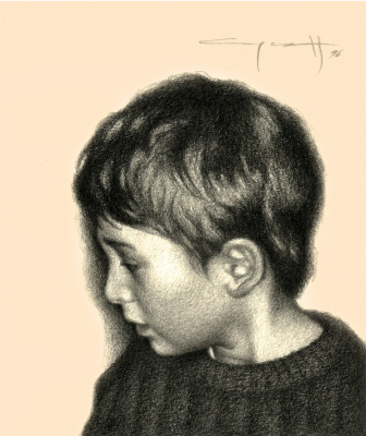 Nikolai Nikolayevich Sednin. Portrait Of Mikhail Czekanowska