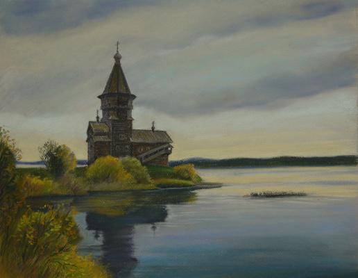 Irina Soboleva. Assumption Church. September.