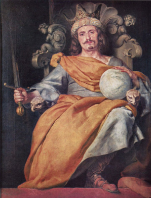 Portrait of the Spanish king