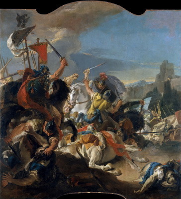 The battle of Vercelli