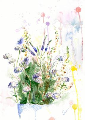 Ekaterina Viktorovna Osipovich. Spring Flowers