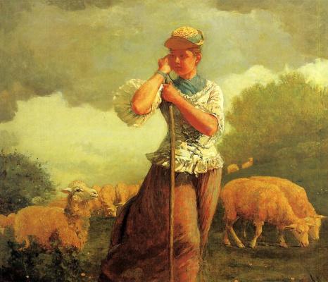 Winslow Homer. Cowgirl