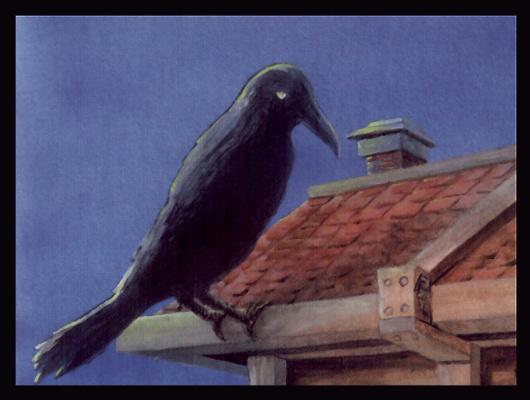 Роберт Карлос. Ворон наблюдает