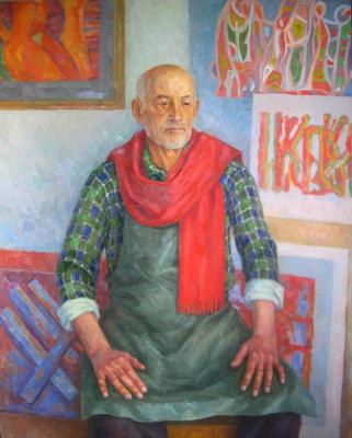 Yuri Davydov. Portrait of the artist Ruslan V. Tymoshenko