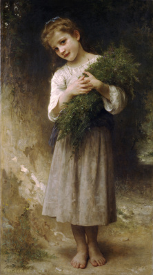 William-Adolphe Bouguereau. The return from the field
