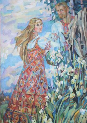 Irina Valerievna Antonovskaya. Spiraea