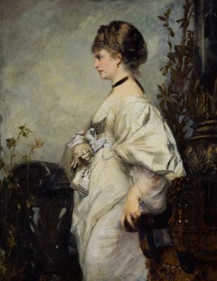 Hans Makart. Portrait Of Magdalena Boards
