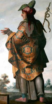 Франсиско де Сурбаран. Дан из серии «Иаков и его сыновья»