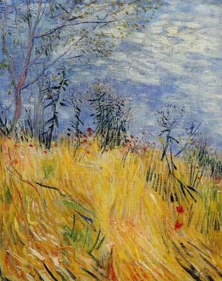 Винсент Ван Гог. Край пшеничного поля с маками