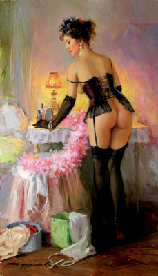 Constantine Razumov. In the boudoir.