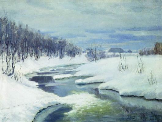 Alexey Stepanovich Stepanov (1780-1887). Thaw. 1904