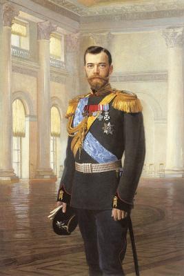 Липгарт. Портрет императора Николая II