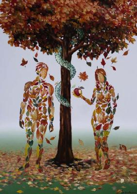 Михай  Кристе. Адам и Ева