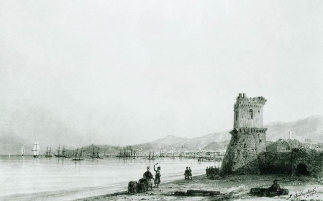 Иван Константинович Айвазовский. Генуэзская башня