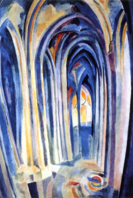 Robert Delaunay. Church of Saint-Severin