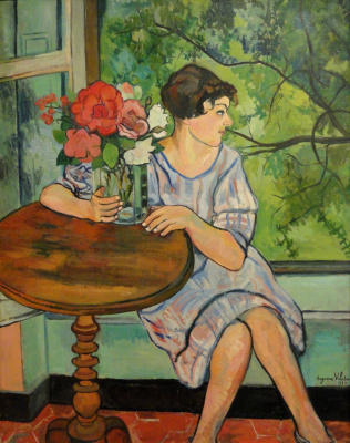 Suzanne Valadon. The girl at the window