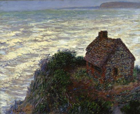 Claude Monet. The house of the customs officer, Varangeville