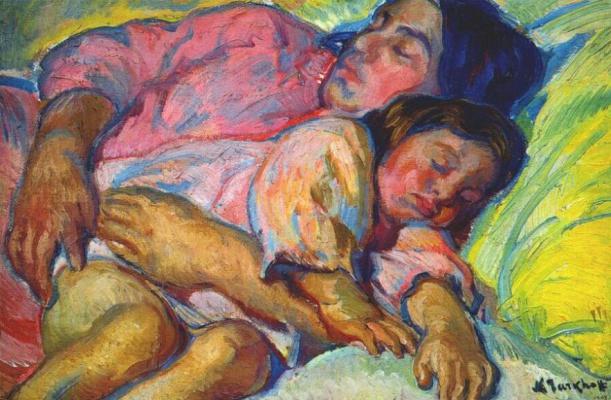 Тархов. Материнство, гармония в розовом