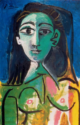 Pablo Picasso. A young woman (Portrait of Jacqueline)