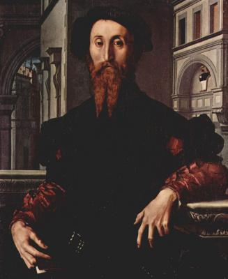 Agnolo Bronzino. Portrait of Bartolomeo Panchatica