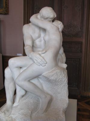 Auguste Rodin. Kiss