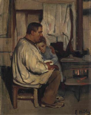 Фердинанд Ходлер. Отец и сын