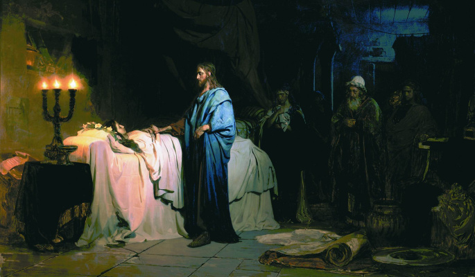 Ilya Efimovich Repin. Resurrection of Jairus's Daughter
