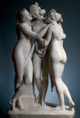 Antonio Canova. The three graces