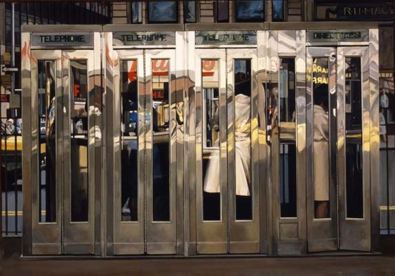 Ричард Эстес. Таксофон. Нью-Йорк
