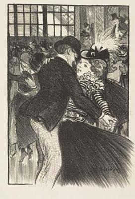 Theophile-Alexander Steinlen. Song Of Montmartre