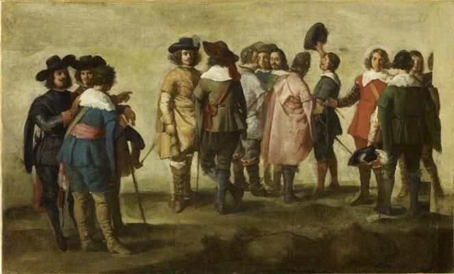 Juan Batista Martinez del Maso. Meeting thirteen people