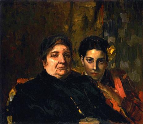 Хоакин Соролья (Соройя). Мария и её бабушка Клотильда