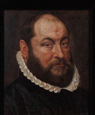 Адриан Томас Кей. Портрет бородатого мужчины