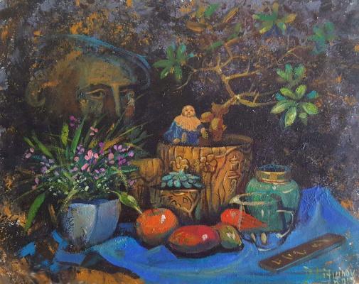 Daniil Litvinov. Китайский натюрморт