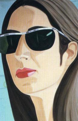 Alex Katz. Ada with sunglasses