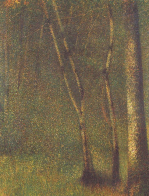 Georges Seurat. Forest Pentamere