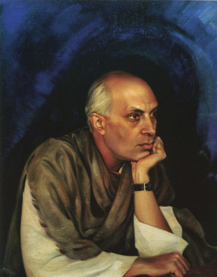 Svyatoslav Nikolaevich Roerich. Pandit Jawaharlal Nehru