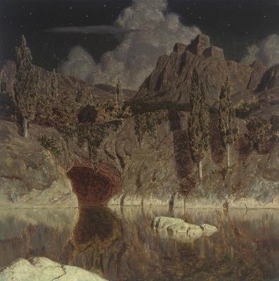 Иван Федорович Шультце. Лунное озеро