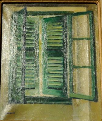 Albert Marquet. Green shutters