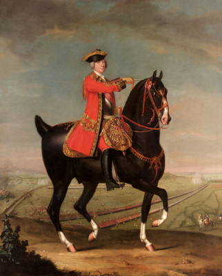 Даниэль Мориер. Конный портрет фельдмаршала сэра Джона Лигонье