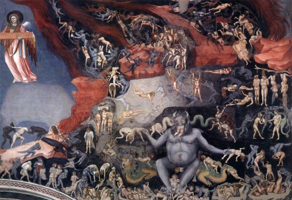 Giotto di Bondone. Judgment. Fragment 14