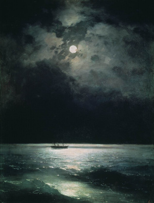Ivan Aivazovsky. Night on the Black Sea