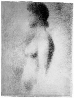 Georges Seurat. Nude