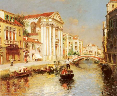 Рубенса Санторо. Венецианский канал